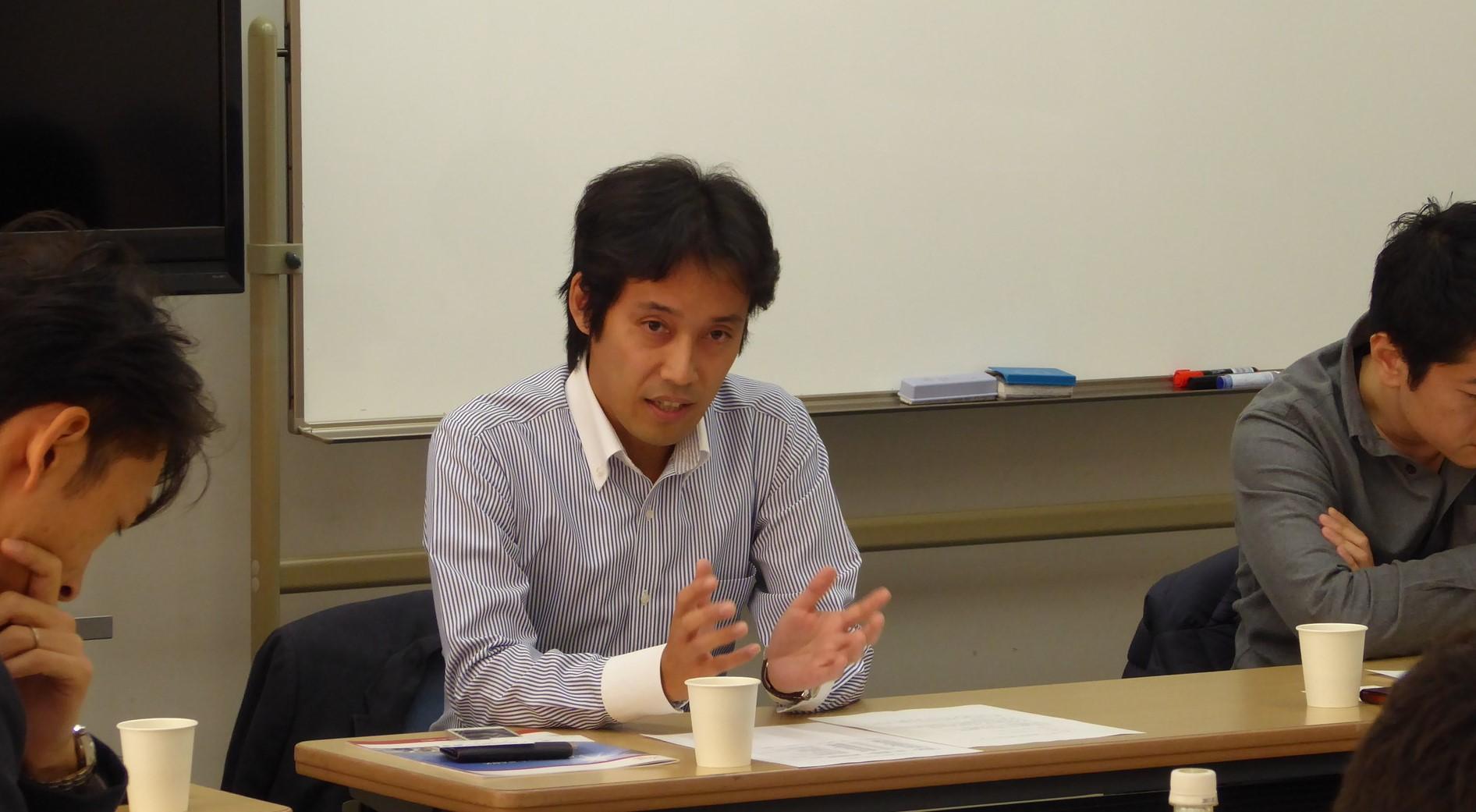 五十嵐正理さん(1995年情報学部経営情報学科卒)