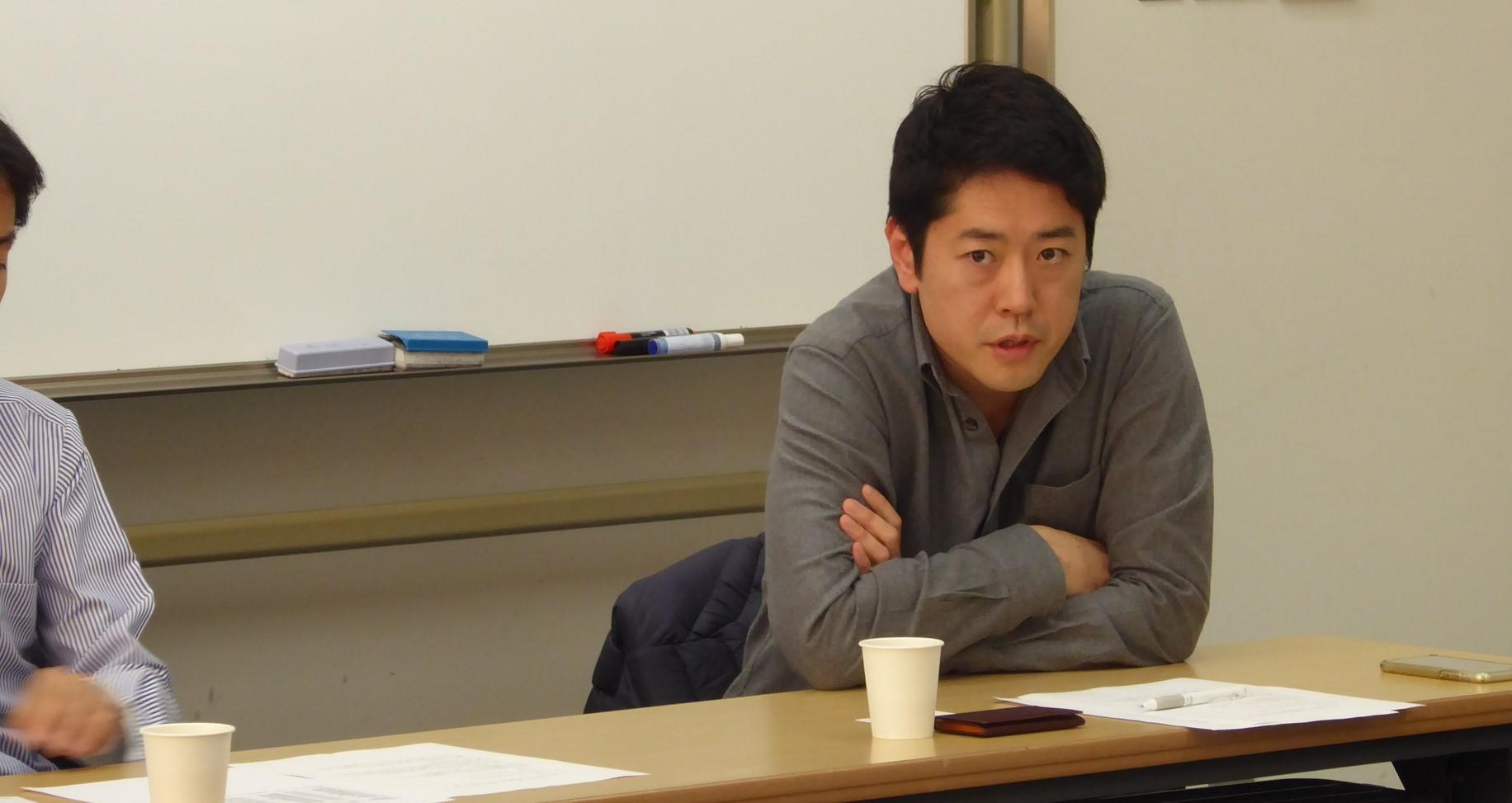玉生孝之さん(2000年情報学部広報学科卒)
